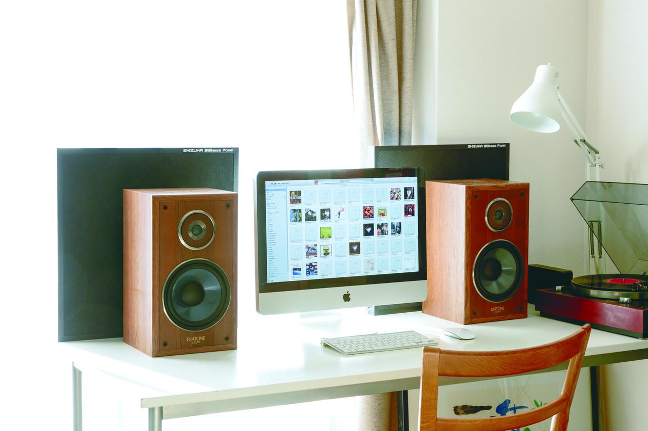 宅録は吸音が大切~スピーカーの背面に設置し反響時間を調整